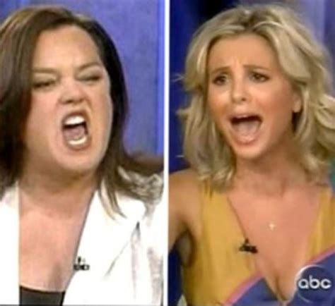 Rosie Not Returning To The View by Elisabeth Hasselbeck On Rosie O Donnell S Return To The