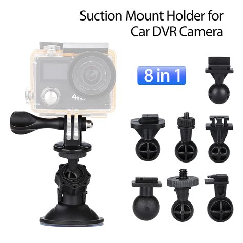 Dijamin Ori Geko Sucker Car Holder Bracket Sucker 360 Rotating Mobile 8in1 car sucker mount holder suction cup for tripod g1wh gt550s g1w cb ebay