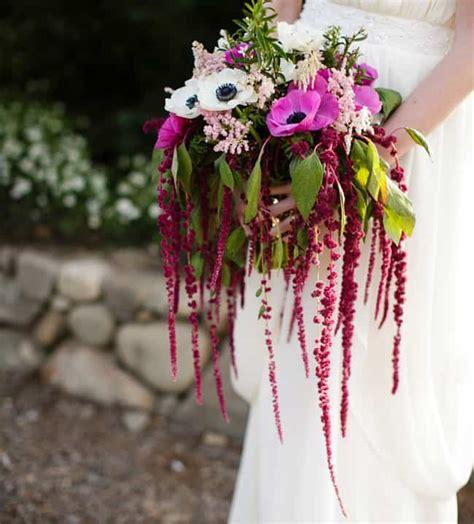 Hanging Bouquet by Diy Vintage Flowers Make A Cascading Amaranthus Bouquet