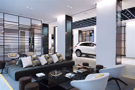 home design center nyc cadillac opens concept store in new york calls it