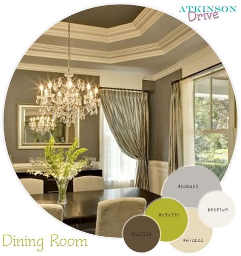 Dining Room Color Palette by Color Palette Home Ideas