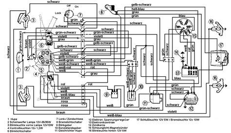 Mz Motorr Der Wie Helfe Ich Mir Selbst by Kabelbaum Pk 50 Xl 2 Elestart Wie Anschlie 223 En Vespa