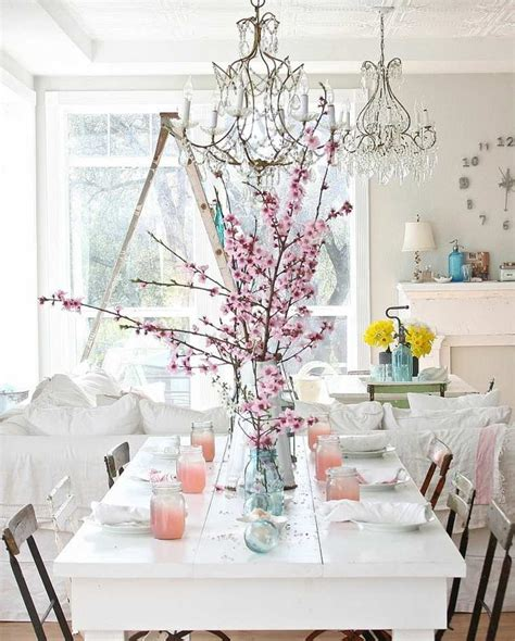 shabby chic table decorations d 233 coration maison de style shabby chic 28 id 233 es magnifiques