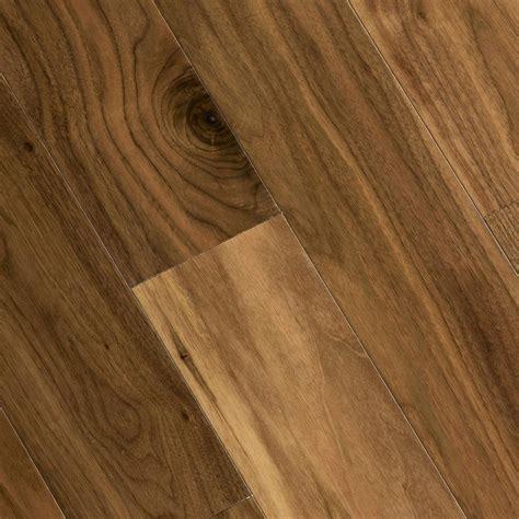 hardwood flooring home legend walnut americana 3 8 in thick x 5 in wide x varying length click lock hardwood