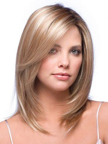 hair cut normal women layered medium length hair with face framing layers