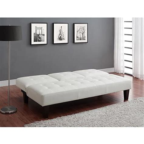 White Leather Futon Sofa Bed Luxury Futon With Cupholder Convertible Sofa Bed White Leather Futons Frames Covers