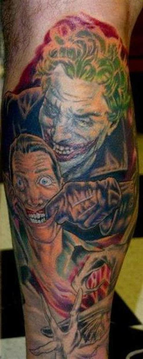 batman joker tattoo batman and joker designs www imgkid the