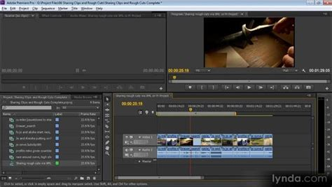 adobe premiere pro how to cut a clip sharing clips and rough cuts directly with adobe premiere