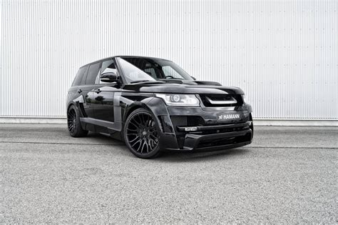 land rover hamann hamann mystere range rover goes from pink to black