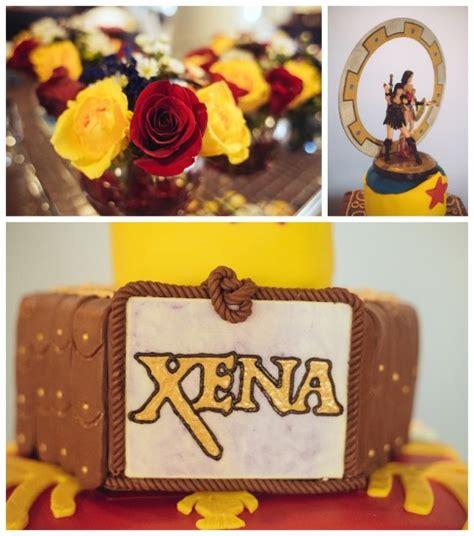 xena and themed wedding cake the sue - Xena Wedding Cake