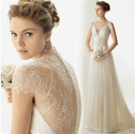 Vintage Lace Wedding Dresses by Striking Collections Of Vintage Lace Wedding Dresses With