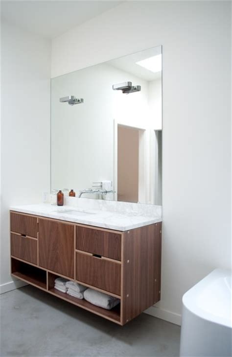 Vanity Screens by Screen Vanity Modern Bathroom Seattle By Kerf Design