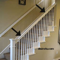 banister stairway handrail parts