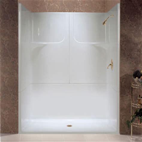 Fiberglass Bathroom Showers Fiberglass Showers Are Inexpensive And Low On Maintenance Bath Decors