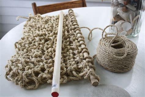 diy knit rug diy knit sisal rug merrypad