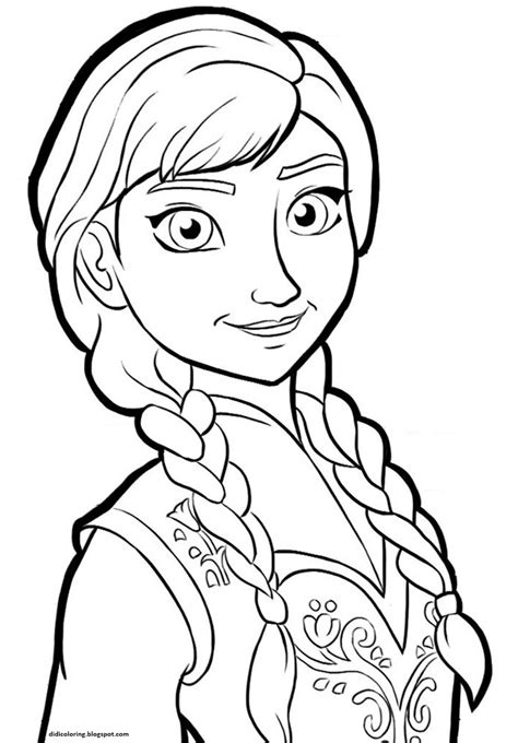 frozen coloring pages free printable frozen walt disney characters coloring for