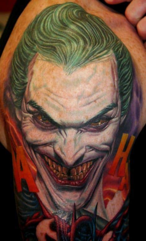 joker tattoo artist 20 twisted dc s joker tattoos tattoodo