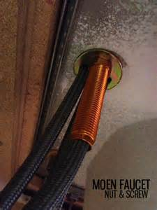 How To Remove A Moen Kitchen Faucet How To Replace A Kitchen Faucet Honeybear