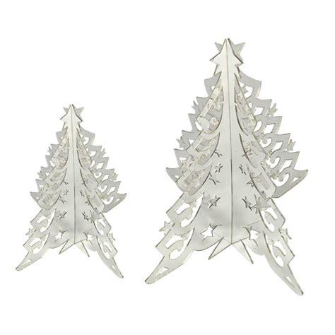 mirror acrylic christmas tree small 15cm jopazjopaz