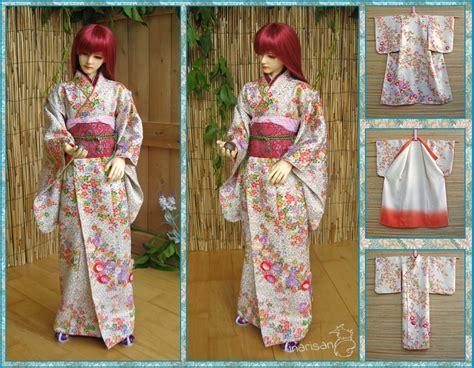 kimono pattern bjd bjd kimono for 69 63cm boy and girl dolls by