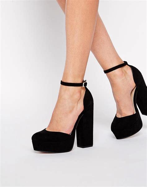 asos shoes asos asos pendulum platform shoes at asos
