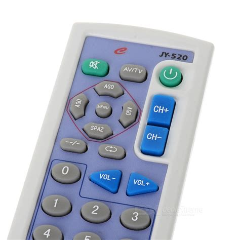 Universal Tv Remote Mini With Keychain Berkualitas universal tv remote keychain with keypad free shipping