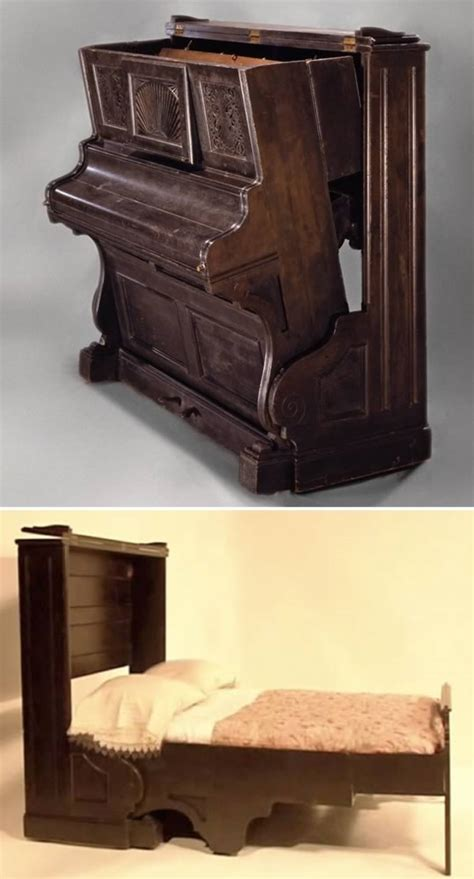 piano bed 8 coolest murphy beds oddee