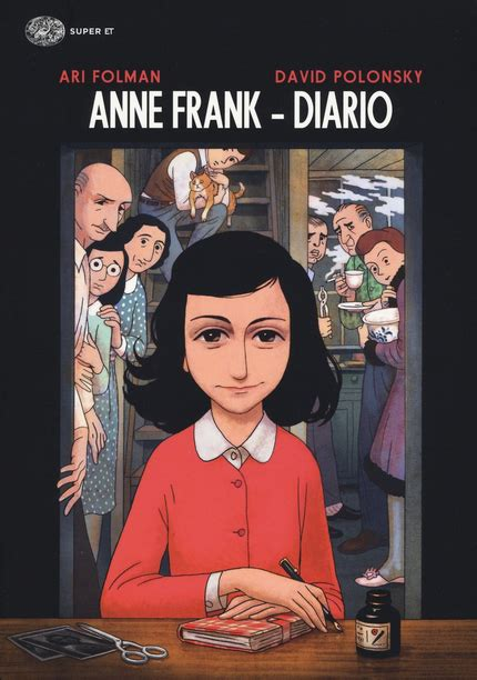 la storia di anne frank in un fumetto l espresso