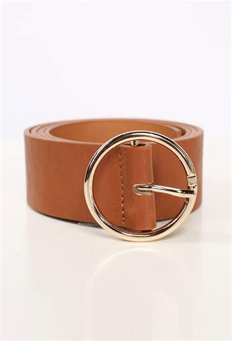 Faux Leather Buckle Belt faux leather buckle belt shop belts at papaya