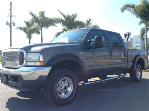 buy used 6 speed manual 4wd 2003 ford f 250 lariat fx4 crew cab turbo diesel 4x4 in saint