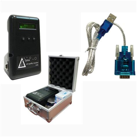 dylos dc1700 particle counter data logger kit and free shipping air quality monitor ac8455