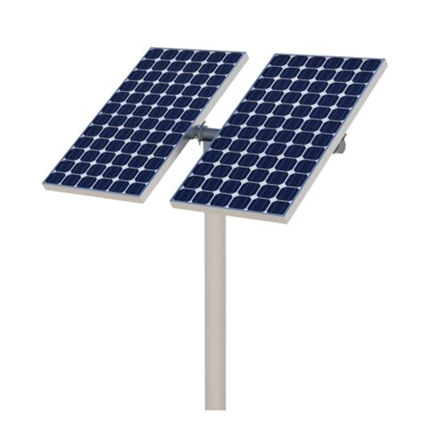 best pole sp12 solar panel top pole mount kit