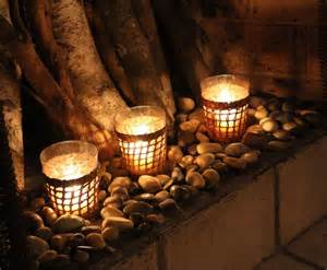 candle displays for fireplaces 12 lovely designs and ideas