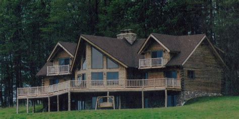 two story log homes two story roosevelt model of treetop log homes and cabins