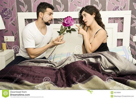bedroom expression vintage reconciliation royalty free stock photos image