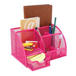 Desk Accessories Organizers Pink Desk Organizers And Accessories Review