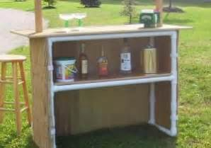 Portable Tiki Hut How To Build A Portable Tiki Bar Woodworking Projects
