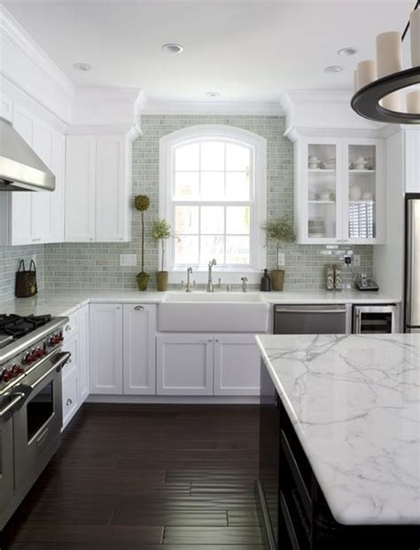 White Cabinets With Floors by White Kitchen Cabinetry Does Not Bland