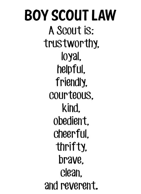Scout Pledge Image Gallery Scout Motto