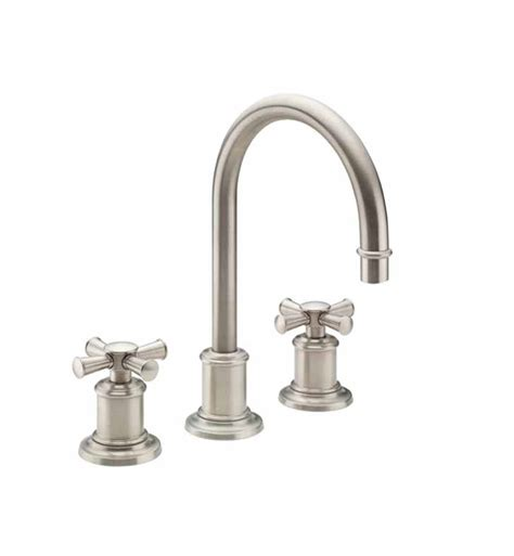 california faucets california faucets 4802x miramar widespread lavatory faucet