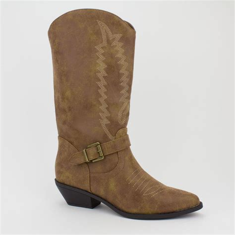 pointy boots womens camel western pointy toe rodeo cowboy