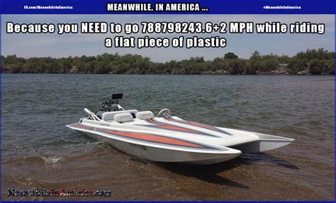speed boat crash meme grunt meanwhile in america