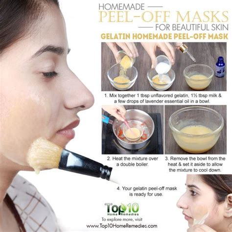 diy peel mask peel masks for glowing spotless skin top 10 home remedies