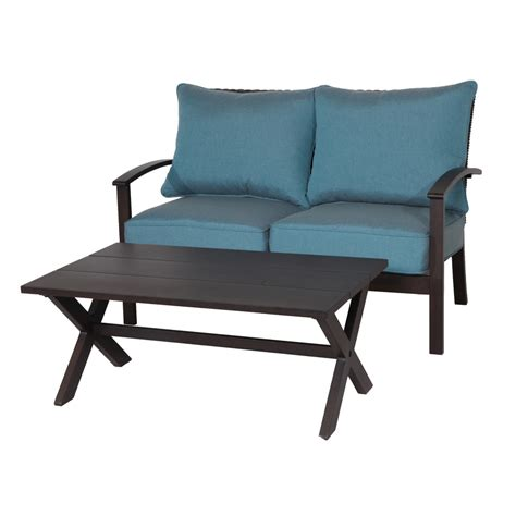 patio chair with ottoman set shop patio furniture sets at lowes with ottomans chair