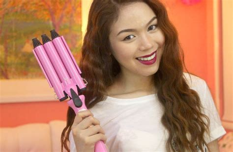 3 barrel curling iron hairstyles how to mermaid curls 3 barrel curling iron
