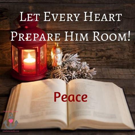 let every prepare him room let every prepare him room peace amelia mcneilly