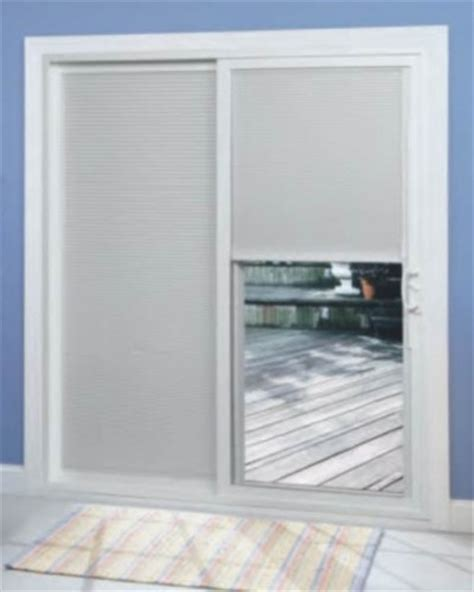 Patio Doors With Blinds Patio Door Blinds Window Treatments