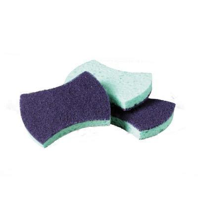 scotch brite medium duty sponge scrubber (pack of 20) 3000