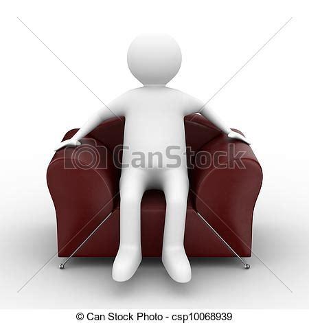 persona seduta disegni di poltrona seduta immagine isolato persona