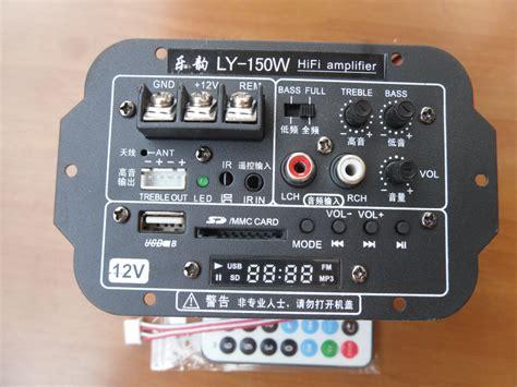 Connect Car Subwoofer In Home Venta Al Por Mayor Tablero Lificador Subwoofer 12 V